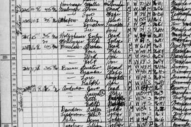 Gustav Brunn 1940 Baltimore census