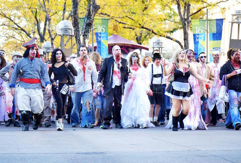 Denver Zombie Crawl Weekend Playbook Denver