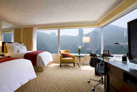 JW Marriott Hong Kong room view