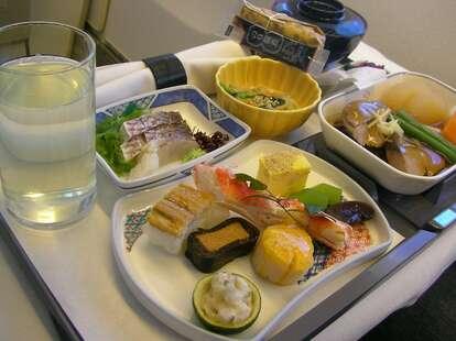 Japan Air in-flight meal