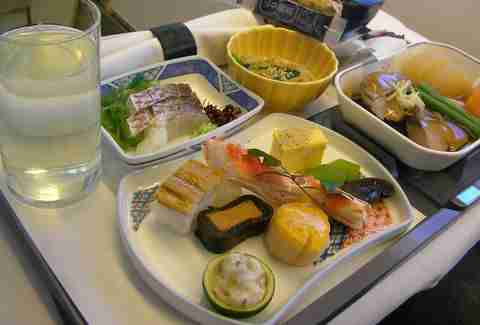 Japan Air in-flight meal