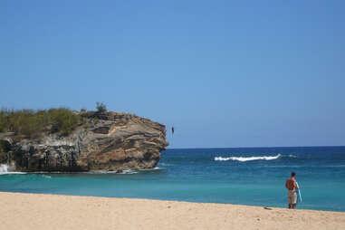 Cliff in Kauai