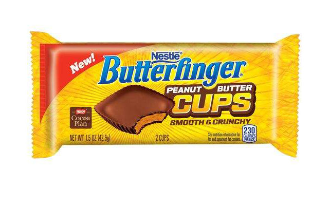 The new Butterfinger peanut butter cup might make you forget about Reese\'s