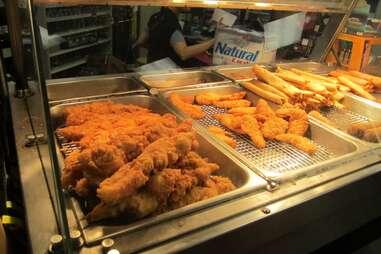 chevron ole miss chicken on a stick