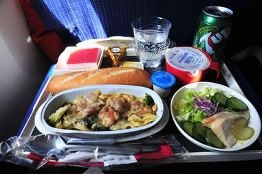 onboard meal Air France