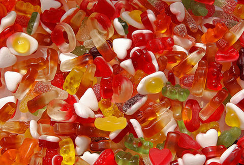 Haribo UK gummies