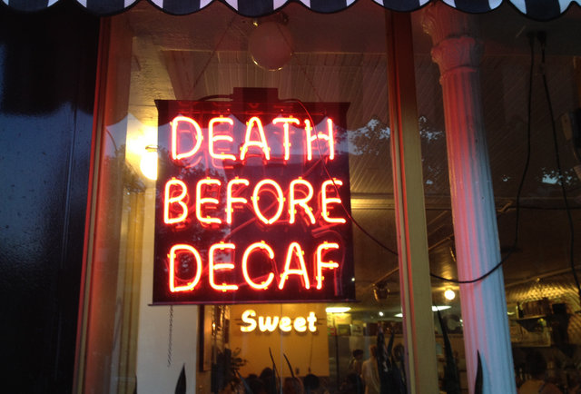 How the hell do they make... decaf coffee?