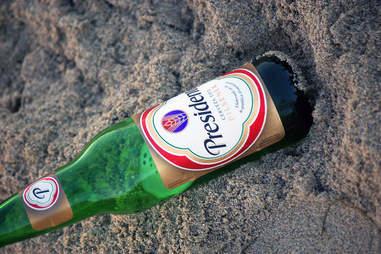 Bottle of Presidente Beer