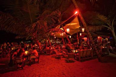 Resort nightlife in Dominican Republic