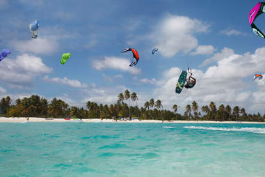 Kiteboarding in the Dominican Republic