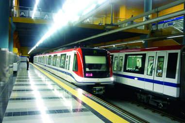 Subway in Santo Domingo Dominican Republic