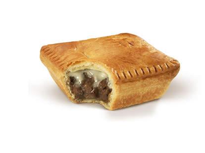 McDonald's New Zealand mince 'n cheese pie