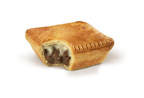 McDonald's New Zealand mince 'n cheese pie