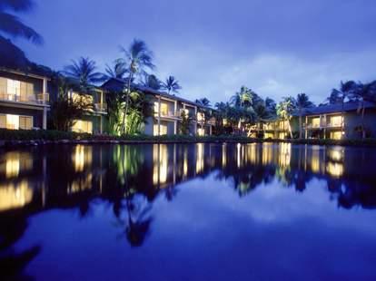 Kahala Resort on the water