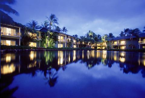 Kahala Resort on the water