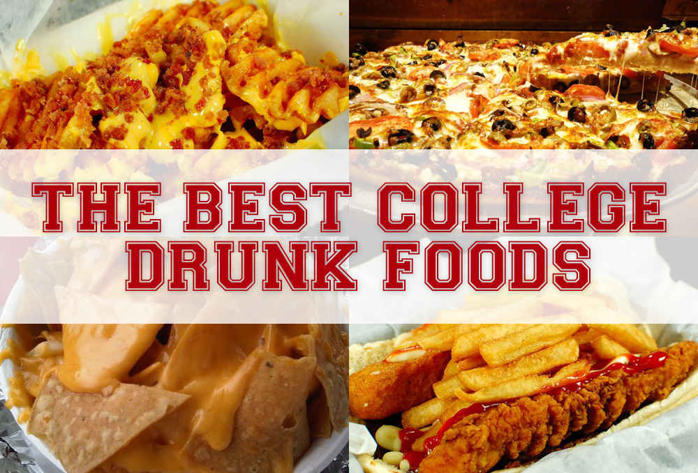 Eating Late At Night At The Best Party Schools Drunk Food Thrillist