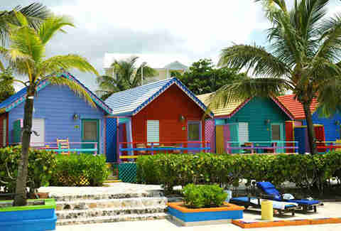 Huts at Compass Point Beach Resort