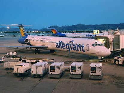 Allegiant Airways airplane