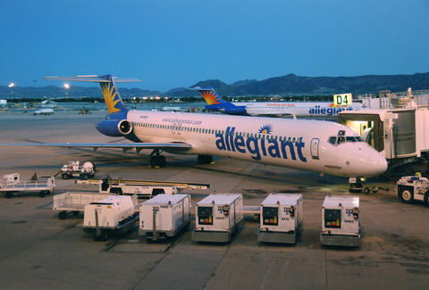 Allegiant Airways airplane