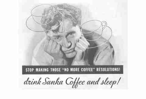 Sanka coffee ad