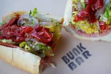 Bunk Sandwiches Italian portland
