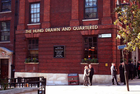 The Hung Drawn and Quartered pub