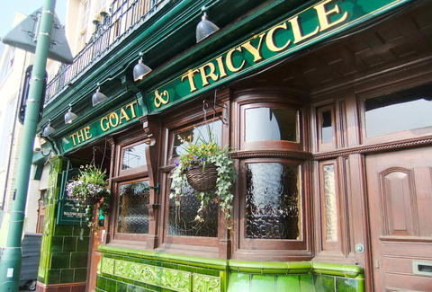 The Goat & Tricycle pub Bournemouth