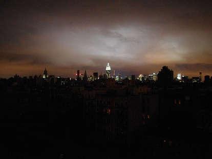 Hurricane Sandy Blackout NYC