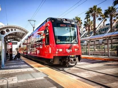 Green Line Trolley Crawl San Diego