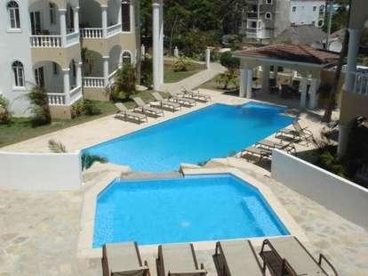 Exotic resort pool