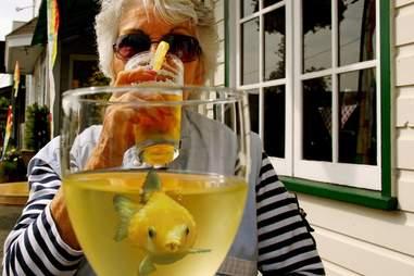 Fish booze