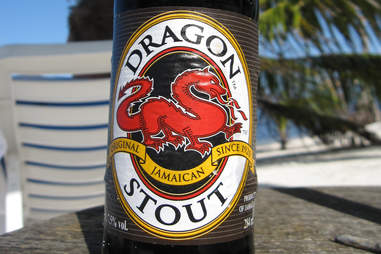 Bottle of Dragon Stout