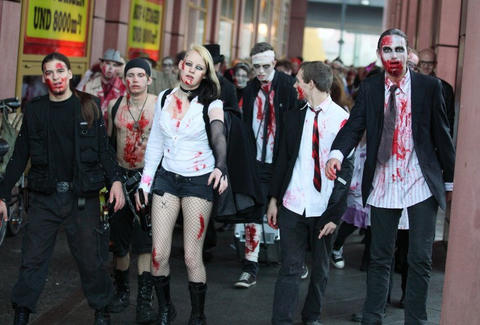 BerlinCityMobber Berlin Zombies