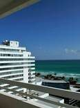 View from Fontainebleau balcony