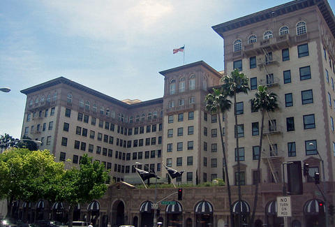 Beverly Wilshire hotel exterior