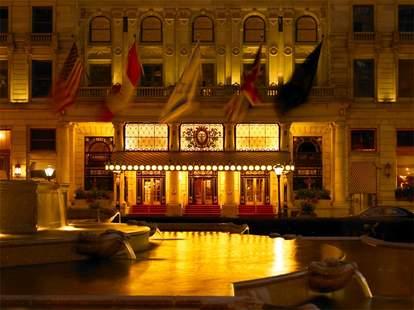 Plaza Hotel Exterior