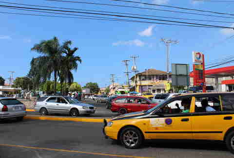 Taxi in Kingston Jamaica