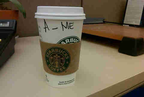 Misspelled Starbucks Amy