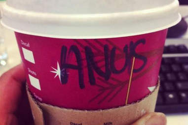 Misspelled Starbucks Ann-Louise
