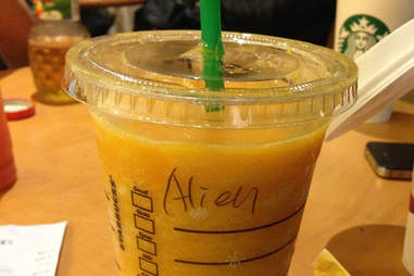 Misspelled Starbucks Ariel
