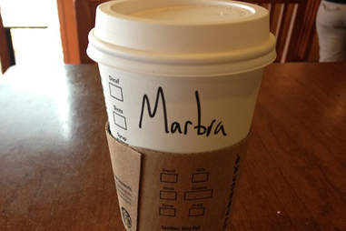 Misspelled Starbucks Barbara