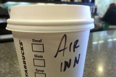 Misspelled Starbucks Erin