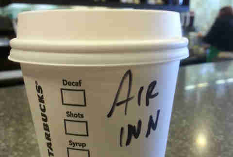 Misspelled Starbucks Erin