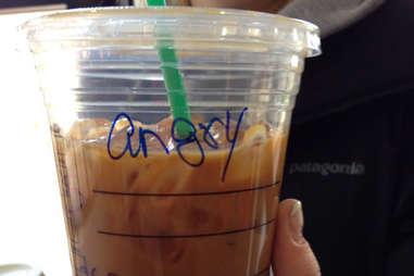 Misspelled Starbucks Ingrid