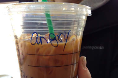 Misspelled Starbucks Ingrid