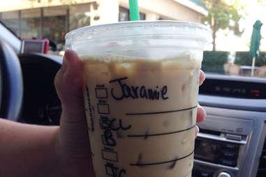 Misspelled Starbucks Jeremy