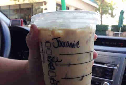 Misspelled Starbucks Jeremy