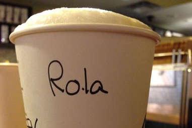 Misspelled Starbucks Laura