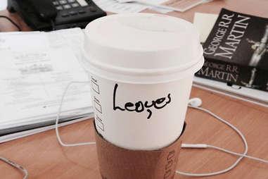 Misspelled Starbucks Louis