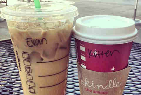 Misspelled Starbucks Yvonne Caitlin